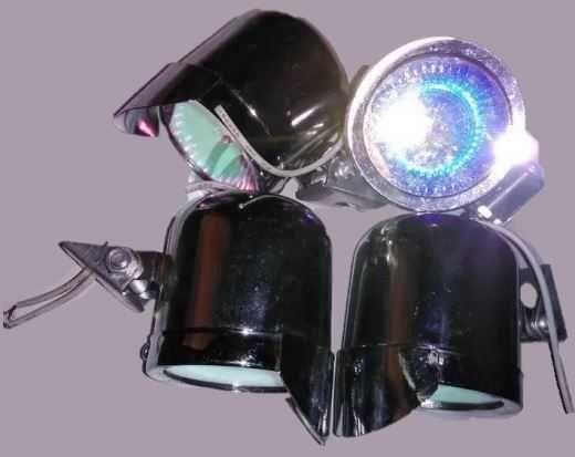 leds mini holofotes variados