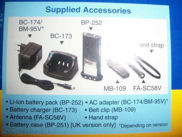аксессуары к радиостанции ICOM IC-M33 и ICOM IC-M35 и ICOM IC-M71