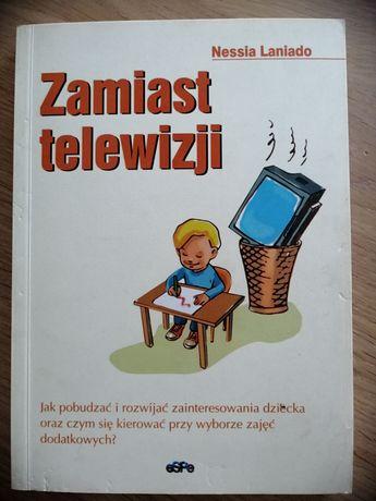 """Książka """"Zamiast telewizji"""" Nessia Laniado"""