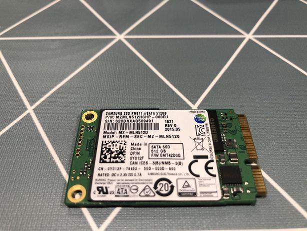 Samsung PM871 512GB mSATA SSD