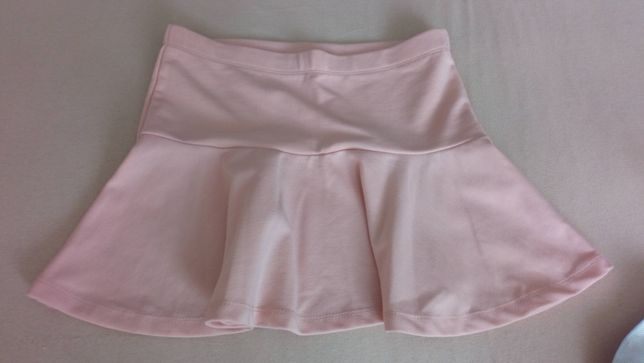Spodnica mini zara bershka m 38 różowa