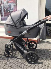 Nowy wózek Dynamic Baby Dover- 2w1 lub z dowolnym fotelem