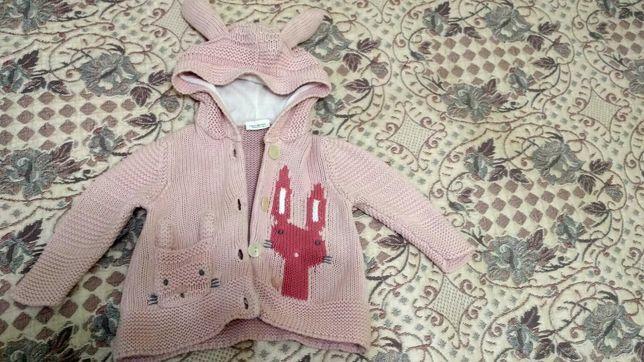 Кофта свитер детский девочка