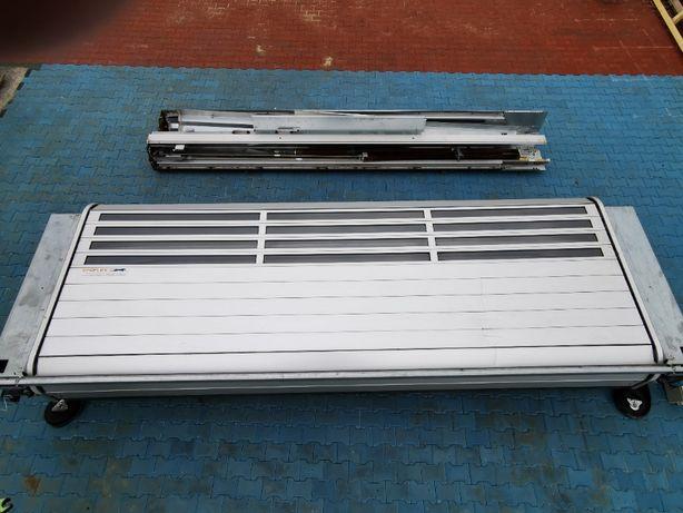 Brama szybkobieżna,segmentowa,roletowa,aluminiowa,izolowana EFAFLEX