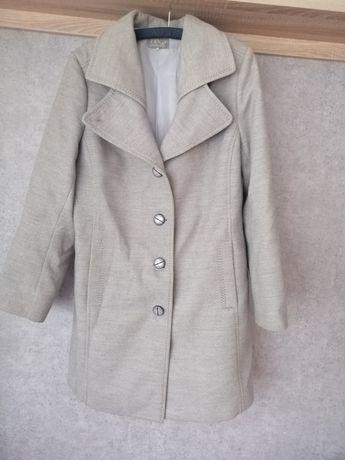 Płaszcz zimowy damski szary XL XXL