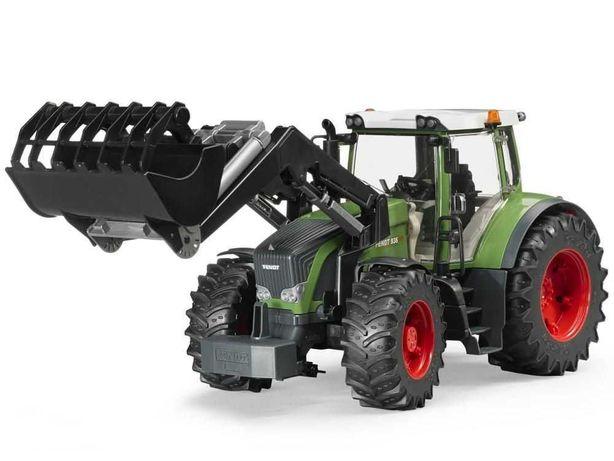 BRUDER 03041 Traktor Fend 936 Vario z ładowaczem czołowym