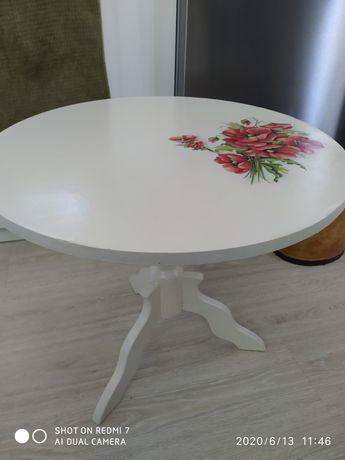 Stolik kawowy malowany