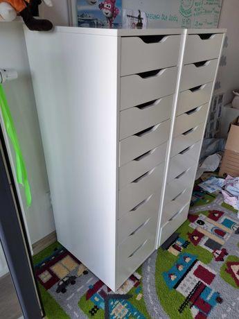 Alex IKEA komoda 9 szuflad biała