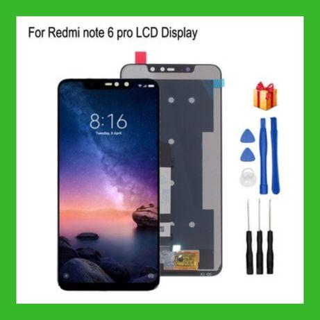 Дисплей Xiaomi Redmi Note 6 Pro Модуль Black White Сенсор Тачскрин