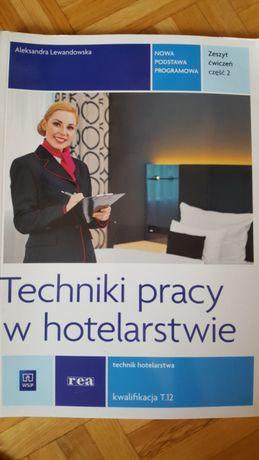 Techniki pracy w hotelarstwie zeszyt ćw. cz.2 Nowa