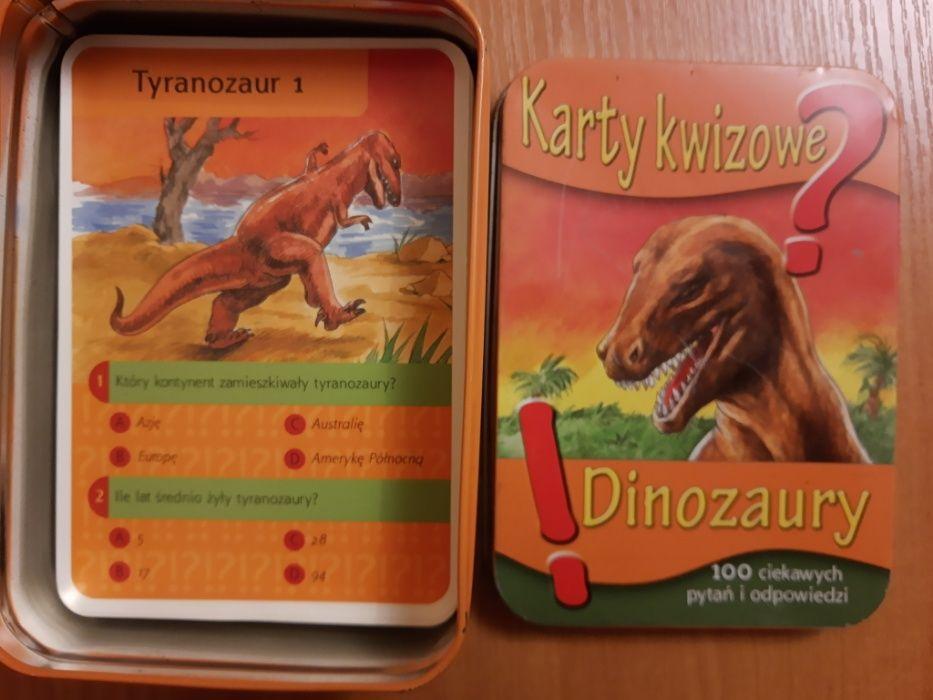 Karty quizowe - Dinozaury Brzozowa-Kolonia - image 1