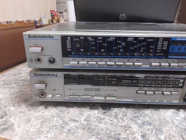 Радиотехника 7111 тюнер и усилитель