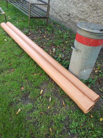 Rury kanalizacyjne 160 3m sn8 4,7mm okazja 2szt