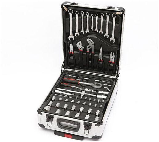 Набор инструментов 186 ел. Geko в чемодане сплав хром-ванадий