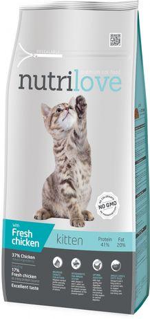 Nutrilove Cat 12501 Kitten 8Kg Kurczak