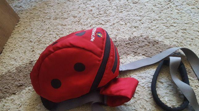 Plecak z raczka do trzymania