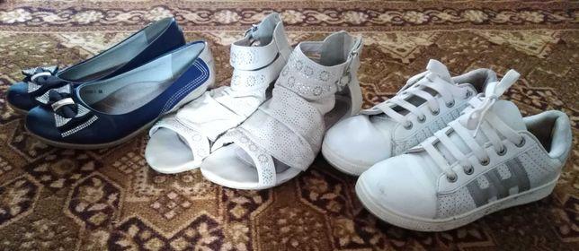 Пакет взуття для дівчинки. Пакет обуви. Размер 35.