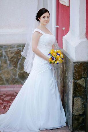 Супер цена!!! Свадебное платье для настоящей Королевы!!!