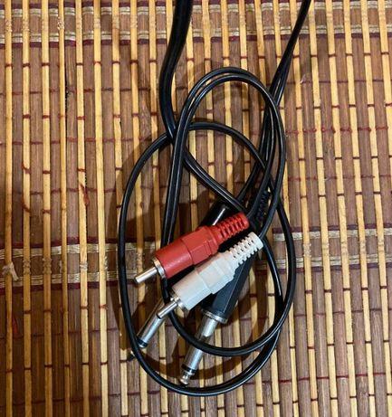 Продаю кабель 2JACK/2RCA в хорошем состоянии