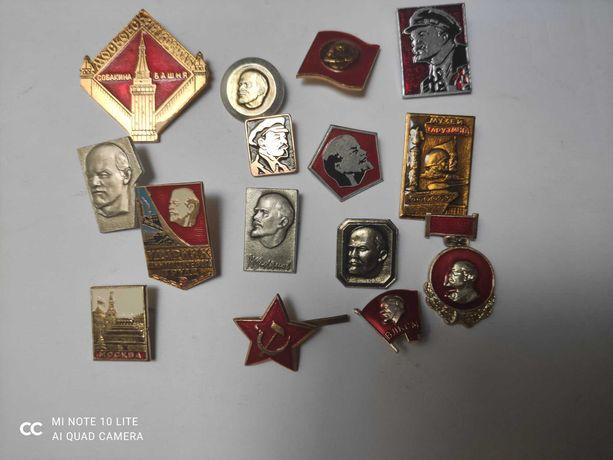 Lote de 15 pins(novos) da URSS