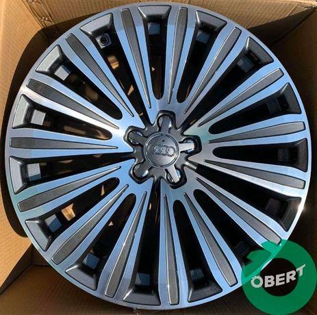 Новые диски 5*112 R20 на Audi A6 A7 A8 Q7 Q8
