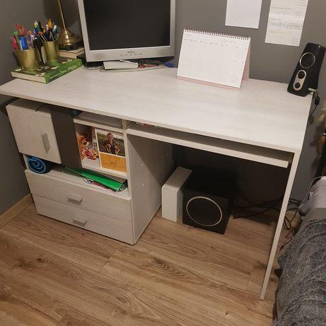 Biurko TEX z szufladami i szafką