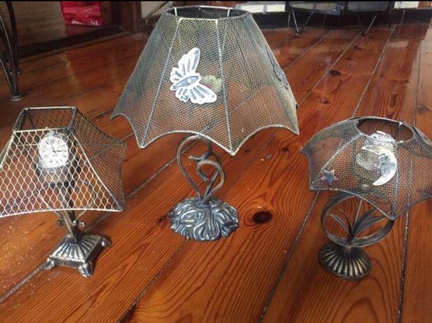 Świeczniki metalowe ozdobne kolekcja świecznik na podgrzewacz lampiony