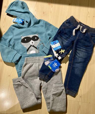 NOWE Ubranka i buty dla chłopca