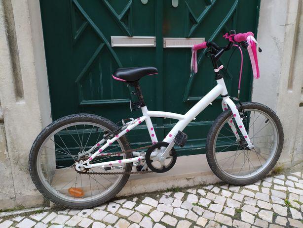 Bicicleta Rapariga Roda 20 Decathlon