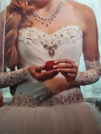 Весільне плаття сукню