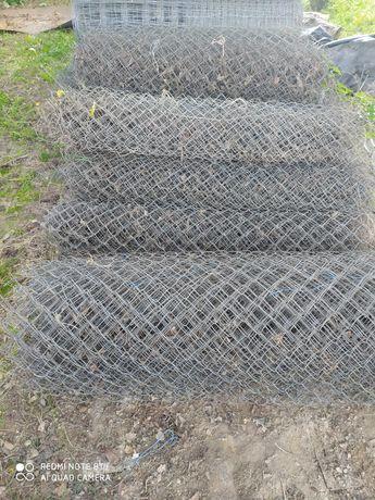 siatka   z lin kopalnianych   1,5 m wysokosci