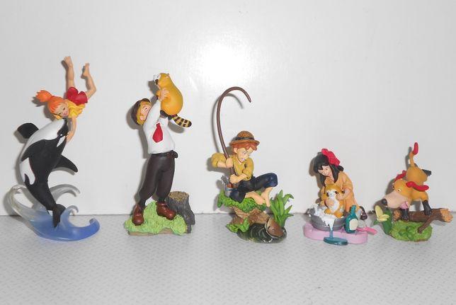 coleção completa bonecos figuras Tom Sawyer