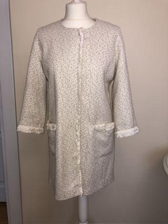 Шикарное твидовое пальто