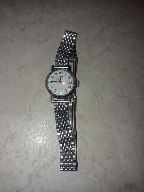 Zegarek zarja 80zl 22 kamieni z datownikiem