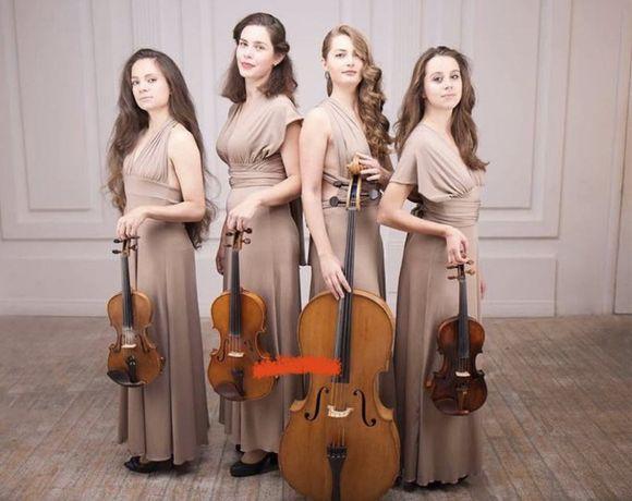 Струнный квартет,скрипка,музыканты на праздник