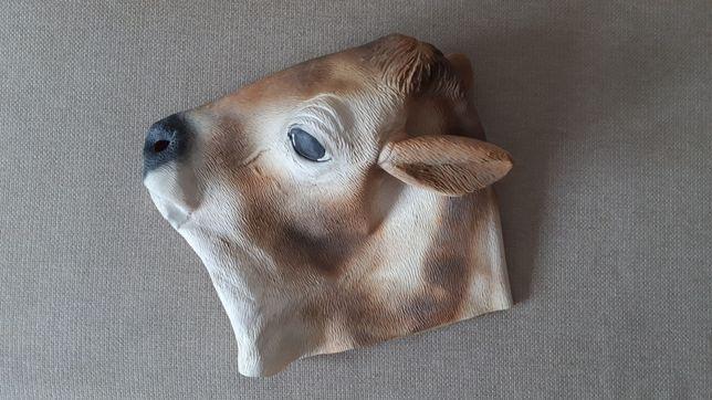 Maska krowy lateksowa realistyczna