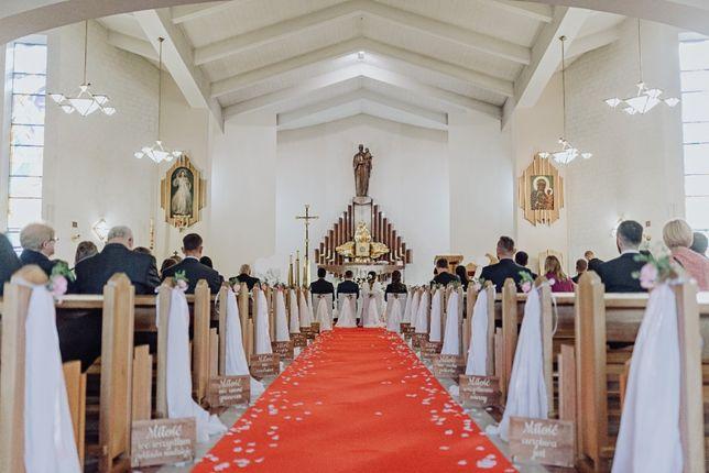 Florystka ślubna, dekoracje weselne, bukiety, przybranie kościoła
