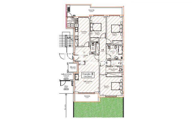 Apartamento T3 - Loureiro C/ Jardim
