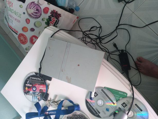 PlayStation 2 a funcionar
