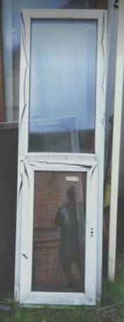 Sprzedam okno plastikowe nowe białe 57x270
