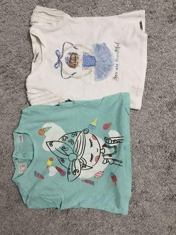 Koszulki dziewczęce rozmiar 98
