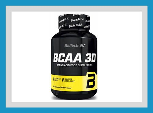 Акция! Biotech USA Nutrition BCAA 3D 90 капсул Аминокислоты БЦАА