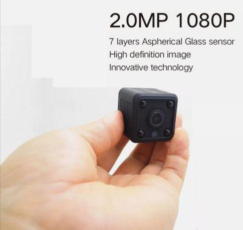 NOVAS Mini Camera HD visão noturna, funciona por IP