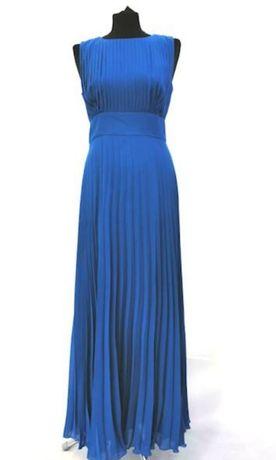 Sukienka długa niebieska