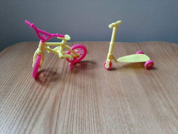 Самокат и велосипед для куколки