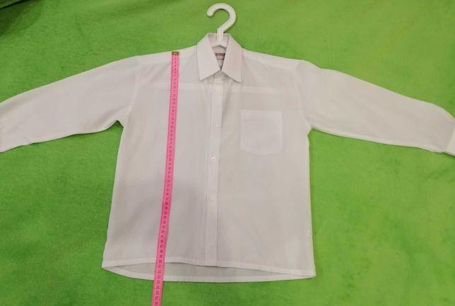 Рубашка школьная на мальчика 5-6-7-8 лет форма рубашки