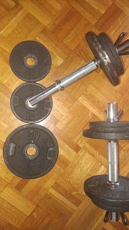 Halteres de musculação