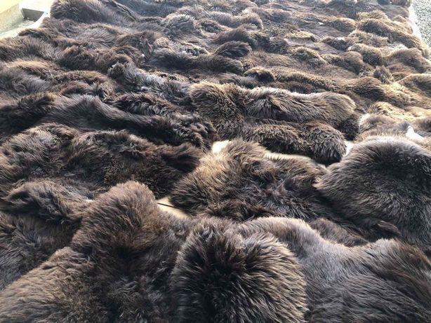 Шкура шкіра ковёр коврик натуральний з овчини овчина