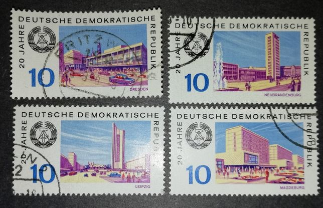 Niemcy DDR Deutsche Demokratische Republik 1969 znaczek / znaczki