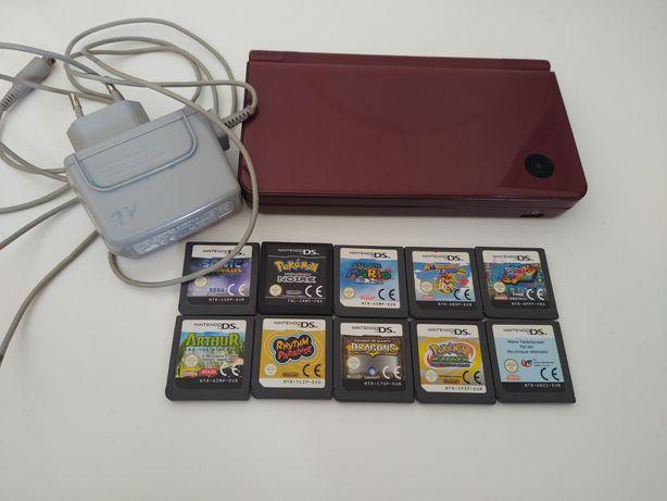 Consola Nintendo DS i XL com 10 jogos